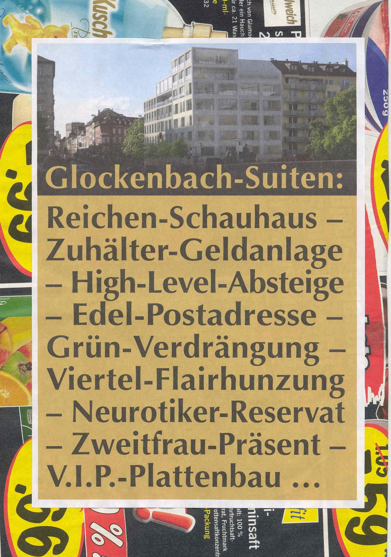 Fundstück im Glockenbachbach